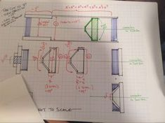 Proper planning is key. You don't have to be a mechanical engineer, but simple sketches go a long way.