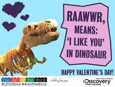 LEGO themed Valentines for the Big Kid in Your Life! For more cool brick creations, check out The Art of the Brick: http://www.discoverytsx.com/exhibitions/art-of-the-brick