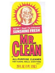 Mr Clean 1950