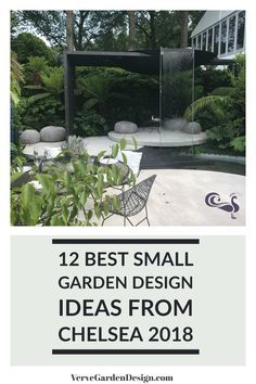 12 Small Garden Design Ideas to Take Away From Chelsea 2018