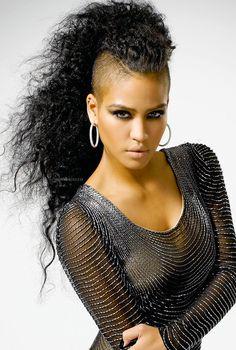 Miraculous Cassie Ventura Love Her Hair Cassie Pinterest Amor Short Hairstyles Gunalazisus
