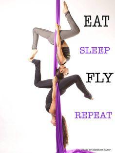Eat Sleep Fly Repeat
