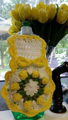 crochet dish soap bottle apron pattern | ... pattern by Katherine Eng. You can get this Free Pattern on Ravelry by