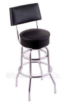 "Classic Series 25"" Swivel Bar Stool with Cushion"