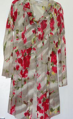 Vestido estampado flores frambuesa
