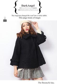 mini poncho coat ; )