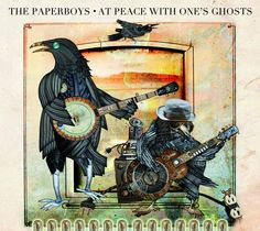 Who is Tom Landa is at the soul of The Paperboys' roots and Locarno's son jarocho. At Peace With One's Ghosts reconciles both sides of a multi-faceted artist. I dig the cool crows in Stevi Parker Kittleson's artwork. Great songwriting as always!