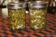 How to Do Canning at Home: Canning Green Beans - There's No Wrong Way - Green Beans are boring unless you spice them up!