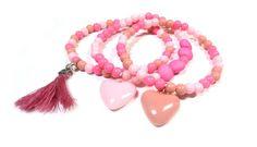 Pastel roze armbandjes mix en match www.beadscreations.nl /Tutorial Pastel Armbanden Mix en Match | Beads Creations Kralen en Sieraden