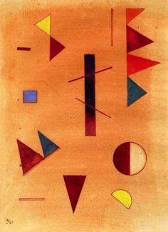 'Scattered' - Wassily Kandinsky - (1930)