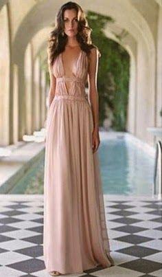 yo elijo coser: Vestido o túnica griega. No necesita patrón