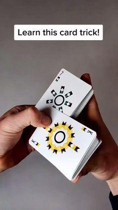 Pen Tricks, Magic Tricks Videos, Magic Tricks Tutorial, Cool Card Tricks, Magic Tricks For Kids, Magic Card Tricks, Cool Paper Crafts, Paper Crafts Origami, Fun Crafts