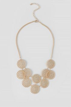 Corey Metal Statement Necklace