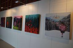 Im Schwarzwaldhaus der Sinne in Grafenhausen wird noch bis Mitte Oktober eine interessante Ausstellung der Künstlerin Michaela Kindle gezeigt. Unter dem Tit