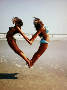 if my best friend and i tried to take a pic like this we would end up breaking our backs or something lol
