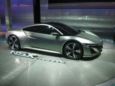 Sweet Obsession - The Acura NSX Concept Supercar #Acura #NSX #conceptcar #supercar