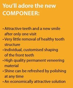 New and great way to an instant smile makeover