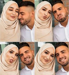 Muslim Couple Quotes, Cute Muslim Couples, Cute Couples, Couples Images, Romantic Couples, Romantic Weddings, Couple Pregnancy Pictures, Casual Couple Photos, Muslim Couple Photography