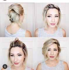 Styling Short Layered Hair