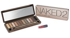 Here we have Urban Decay Naked 2 Palette. Naked 1 Palette is just as lovely. Palette Urban Decay, Naked Palette, Best Eyeshadow, Eyeshadow Palette, Eyeshadow Primer, Christina Aguilera, Naked2, Sephora, Beauty Makeup