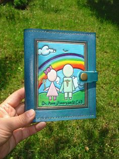Prescription Pad Holder for US Size Prescriptions by MadeOfLeather