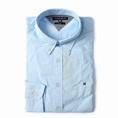 Tommy Hilfiger Long Sleeve Dress Shirts Light Blue Mens Free Shipping Long Sleeve Shirt Dress, Dress Shirts, Tommy Hilfiger Shirts, Light Blue, Dresses With Sleeves, Free Shipping, Mens Tops, Fashion, Moda