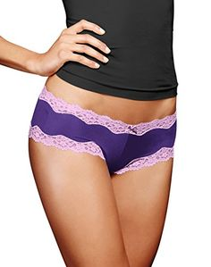 Maidenform Women's Microfiber Scallop Lace Cheeky Hipster Panty, Rich Purple/Luminous Lilac, 5 Maidenform http://www.amazon.com/dp/B0106PKJHW/ref=cm_sw_r_pi_dp_sj2Wvb1NMKC3F