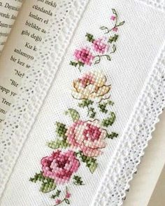 New Embroidery Funny Needlework 47 Ideas Cross Stitch Bookmarks, Cross Stitch Love, Cross Stitch Needles, Cross Stitch Borders, Cross Stitch Flowers, Cross Stitch Charts, Cross Stitch Designs, Cross Stitching, Cross Stitch Embroidery