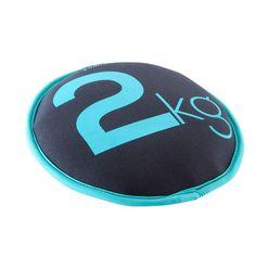 FITNESS Fitness - SAND DISC DUMBELL 2KG DOMYOS