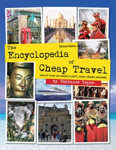 Great book for traveling on the cheap.