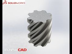 SolidWorks Training & Tutorials | Flex Feature | Creating Helical Gear