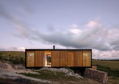 MAPA designs prefabricated house for Uruguayan olive grove