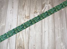 "Peacock 7/8"" grosgrain ribbon. 3 or 5 yard lot by Shaebugsupply on Etsy"