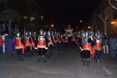 Armaos en la procesión del Santo Entierro