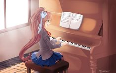 Monika- Doki Doki Literature Club