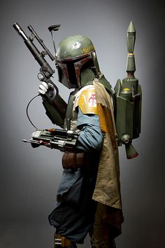 Boba Fett, Star Wars. Photographed by Convoke Photography