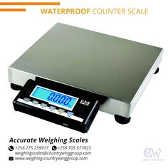 Accurate Weighing Scales table top scales are composed of a terminal and scale body, which is made of steel and resists wear and tear and shock. For inquiries on deliveries contact us Office +256 (0) 705 577 823, +256 (0) 775 259 917 Address: Wandegeya KCCA Market South Wing, 2nd Floor Room SSF 036 Email: weighingscales@countrywinggroup.com Weighing Balance, Wings Group, Us Office, Weighing Scale, Height And Weight, 2nd Floor, Crane, Steel