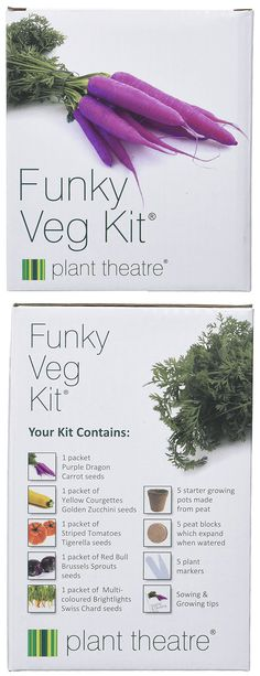 5 Extraordinary Vegetables Grow Kit Plant Theatre, Amazon Home Decor, Carrot Seeds, Grow Kit, Gardening Gloves, Cool Tools, Growing Vegetables, Lawn, How To Look Better