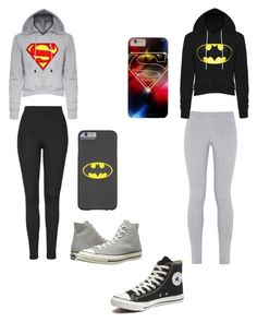 """""""Bestfriend goals."""" by makenzie-conley ❤ liked on Polyvore featuring beauty, NIKE, Topshop and Converse"""