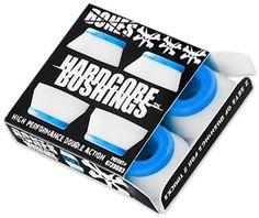 Bones HardCore Soft Skate Bushings (2 Truck Set) - white (81a) - Skate Shop > Skateboard Parts > Truck Accessories
