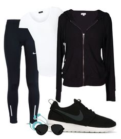 """""""Running"""" by daaaiu on Polyvore featuring NIKE, Joseph, Velvet by Graham & Spencer, FOSSIL and 3.1 Phillip Lim"""