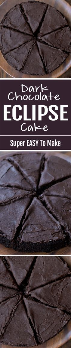 This extra dark chocolate cake is unlike other cake recipes, thanks to one special ingredient.