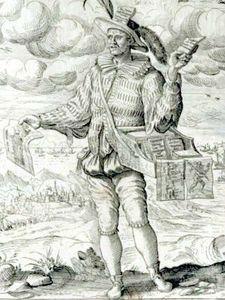 Colporteur vers 1590
