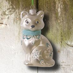 Hallmark Heritage 2016 Snow Fox by Edythe Kegrize another beautiful design found in the archives
