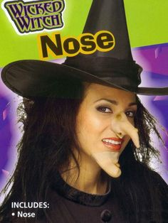 Halloween Witch Nose