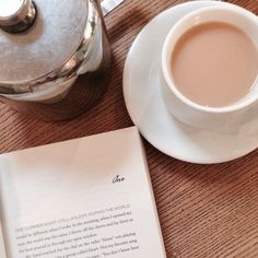 """""""you can never get a cup of tea large enough or a book long enough to suit me."""" - C.S. Lewis ♡"""