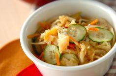 切干し大根の彩りサラダのレシピ・作り方 - 簡単プロの料理レシピ | E・レシピ