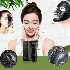 Blackhead Remove Facial Masks Deep Cleansing Purifying Peel Off Black Nud Facail Face black Mask xgrj Hot Sale #Affiliate