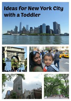 Ideas for exploring New York City with a toddler