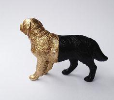 Goldhund von BenLix auf Etsy, $46,00